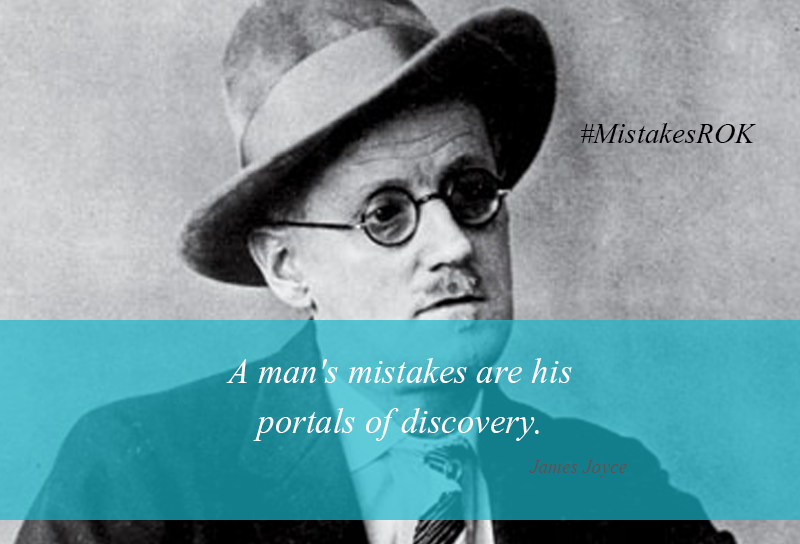 James Joyce, math mistakes